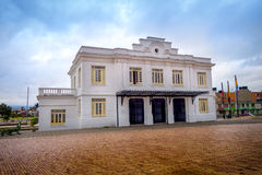 Zipaquira beautiful tourist historic train station Royalty Free Stock Images