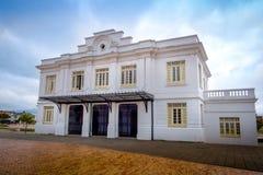 Zipaquira beautiful tourist historic train station Royalty Free Stock Photo