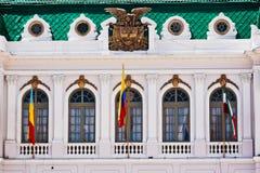zipaquira för colombia husborgmästare Arkivfoto