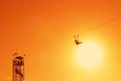 Zipline Stock Image