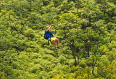 Zipline Royalty Free Stock Photography