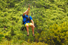 Zipline Royalty Free Stock Images