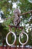 Ziplines Royalty Free Stock Image