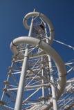 Ziplinie Turm in Oklahoma City stockbilder