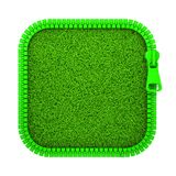 Zipped Grass Royalty Free Stock Photography
