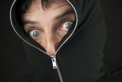 Zipped To The Nose Stock Image