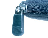 Zipper Royalty Free Stock Photo
