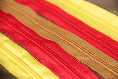 Zipper Fotografia de Stock