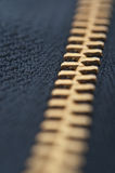 Zipper on background Stock Images