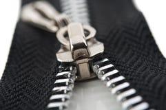 Zipper on background Stock Photos