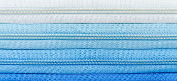 Zipper blue gradient Royalty Free Stock Images