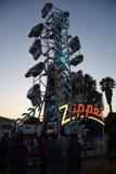 The Zipper Carnival Ride Stock Image