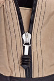 Zipper clasp Stock Image