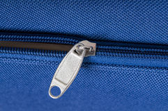 Zipper Closeup Stock Photography