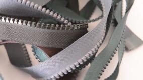 Zipper closure rotation rotation. Sewing accessories