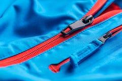 Zipper on coat Royalty Free Stock Photos