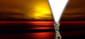 Zipper concept Stock Photo