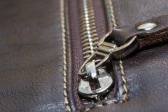 Zipper construction Royalty Free Stock Image