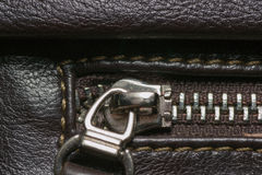 Zipper construction Royalty Free Stock Images