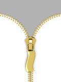 The zipper Royalty Free Stock Photo