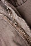 Zipper das calças Foto de Stock Royalty Free