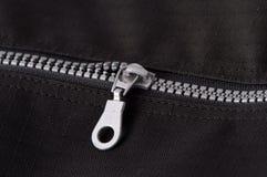 Zipper de prata Fotografia de Stock Royalty Free