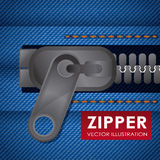 Zipper design Royalty Free Stock Photography