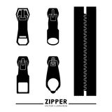 Zipper design Royalty Free Stock Photo