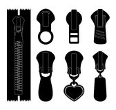 Zipper design, vector illustration. Royalty Free Stock Photo