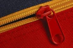 Zipper detail Royalty Free Stock Photo