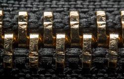 Zipper detail Royalty Free Stock Photos