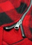 Zipper do tabuleiro de damas foto de stock royalty free