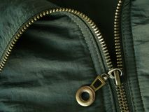 Zipper fragment Stock Photography