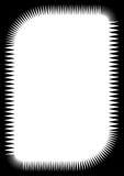 zipper graniczny Zdjęcia Stock