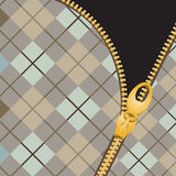 Zipper  illustration Royalty Free Stock Photos