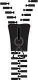 Zipper. Ilustração do vetor Imagens de Stock Royalty Free