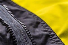 Zipper on jacket Stock Photography
