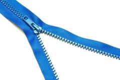 Zipper On White Stock Image