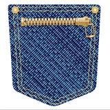 Zipper Pocket Royalty Free Stock Image