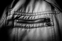 Zipper Pull Detail Stock Photography