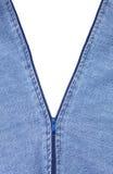 Zipper que abre ao branco Fotografia de Stock