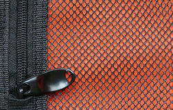 Zipper storage bag. Zipper  of the bag is intended to secure Stock Images