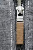 Zipper tag Royalty Free Stock Photo