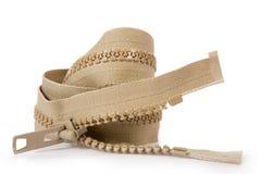 Zipper Unzipped Imagens de Stock Royalty Free