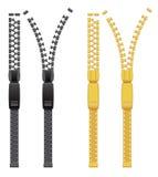 Zipper. Vector illustration Stock Photography