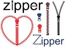 Zipper. Vector illustration (EPS 10 Royalty Free Stock Photography
