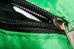 Zipper. Lock, fashion, fastener, close, metal, tailor royalty free stock photography