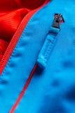 Zippered blåttlagfack Arkivbilder