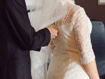 Zippering Dress Stock Photos