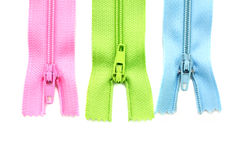 Zippers Foto de Stock
